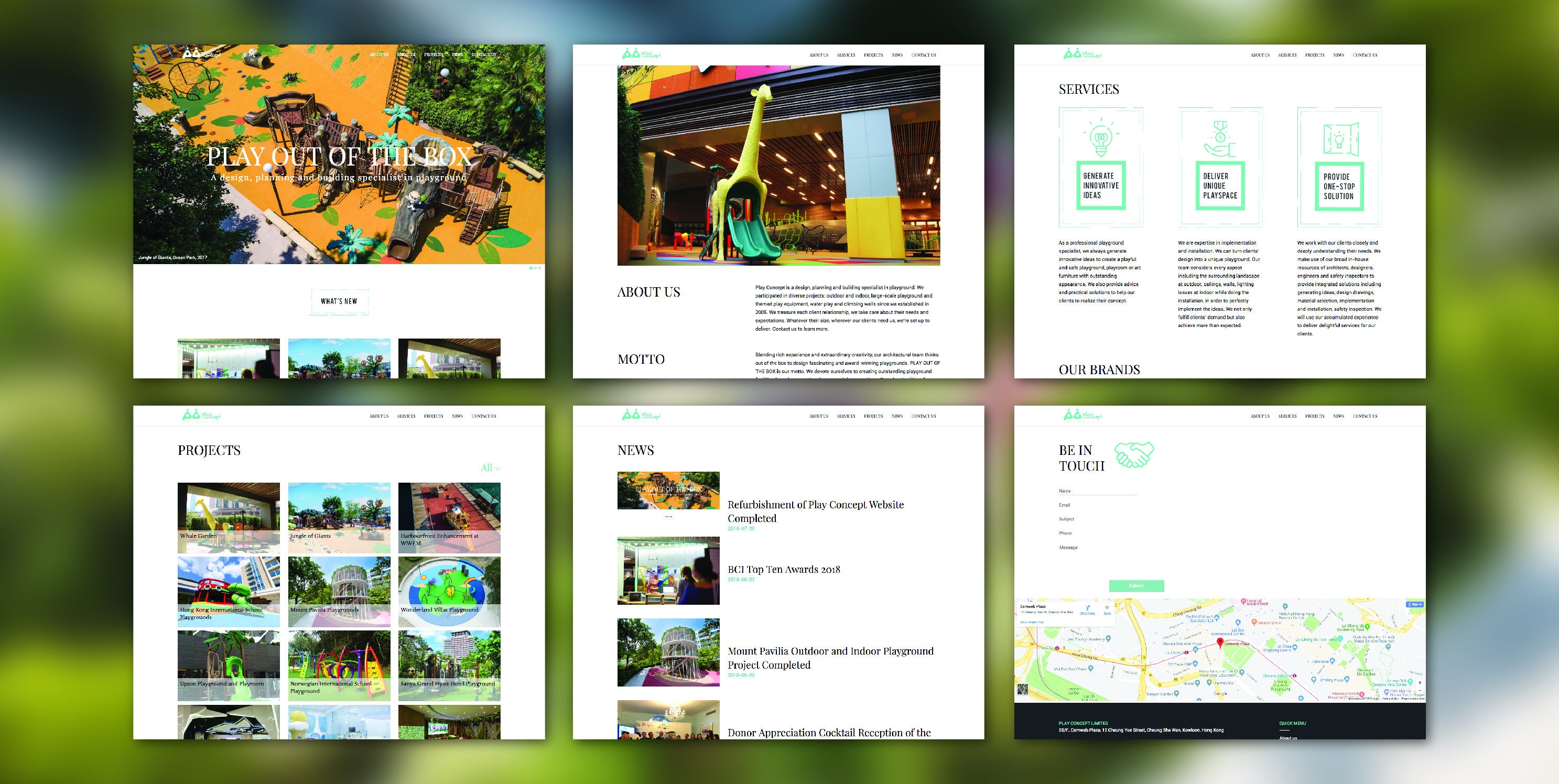 Play Concept - Refurbishment of Play Concept Website Completed - 1